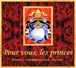 """Pour vous les princes-logo--Association """"Le Paris du Nord""""  協會 """"北部巴黎-Thierry-Prouvost-蒂埃里•普罗沃"""