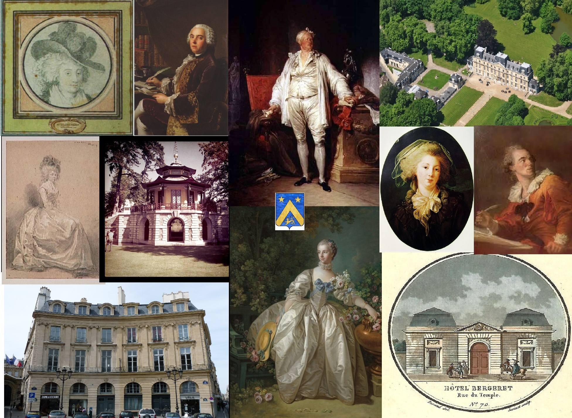 """Bergeret-La-girennerie-Fragonard-Thierry-Prouvost-蒂埃里•普罗沃 - Association """"Le Paris du Nord""""  協會 """"北部巴黎"""