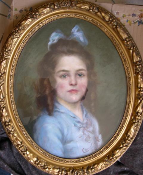 Camille Prouvost portrait Joseph Prouvost pere de Xavier Prouvost