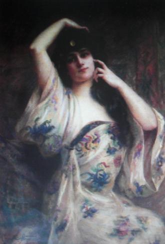 Camille Prouvost, Femme au peignoir