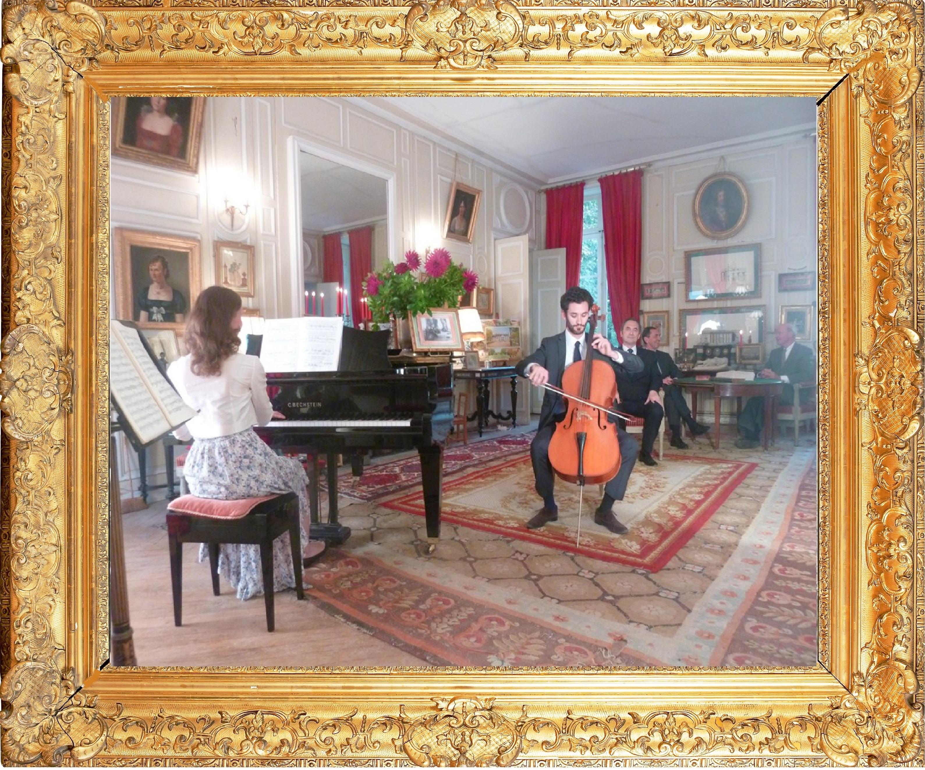 """Concert-Amedee-III-Prouvost-Association """"Le Paris du Nord""""  協會 """"北部巴黎-Thierry-Prouvost-蒂埃里•普罗沃"""