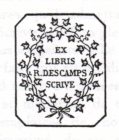 DESCAMPS-SCRIVE