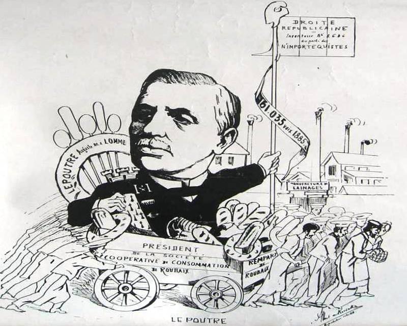 Auguste I Lepoutre-depute du Nord
