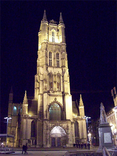 Gand-st-bavo-s-cathedral-