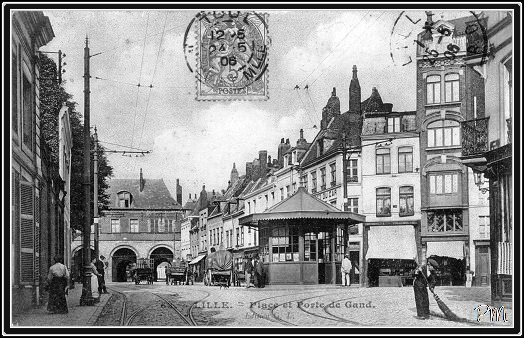 Gand-place-Carmes-Manufactures-royale-Dauphin-Lille