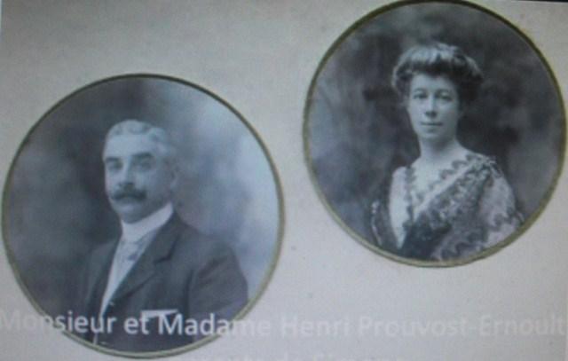 """Henri-IV-Prouvost-1861-1917-epoux-Laure-Ernoult-Thierry-Prouvost-蒂埃里•普罗沃 - Association """"Le Paris du Nord""""  協會 """"北部巴黎"""