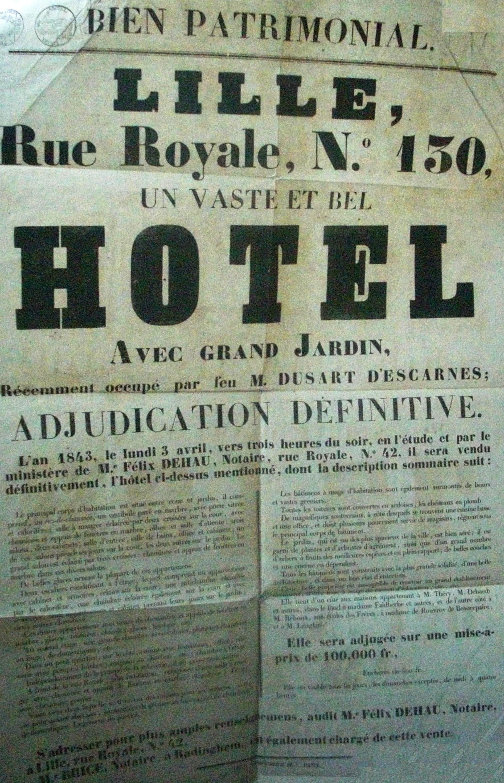 Hotel-de-Lamissart-130-rue-Royale-Lille