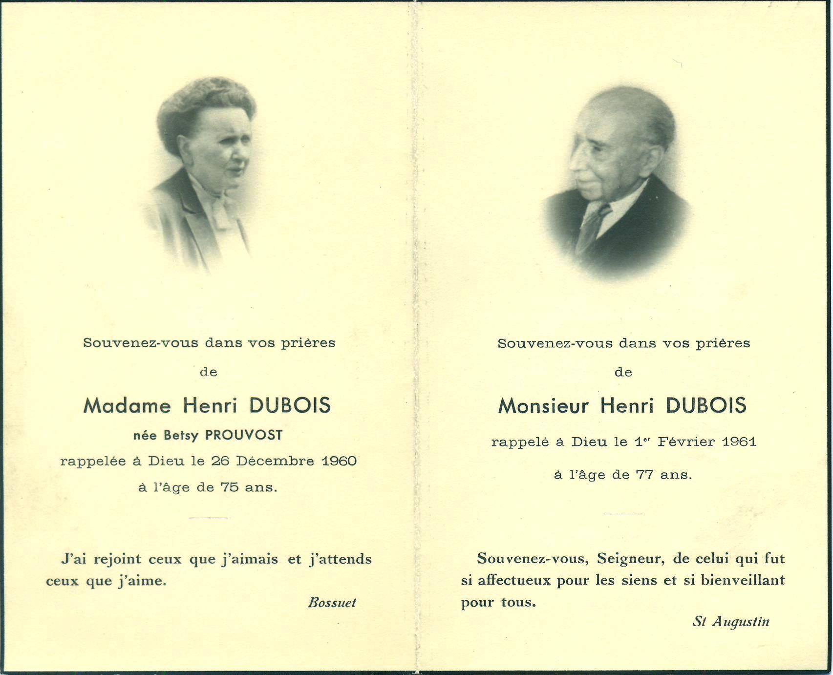 Dubois-Prouvost