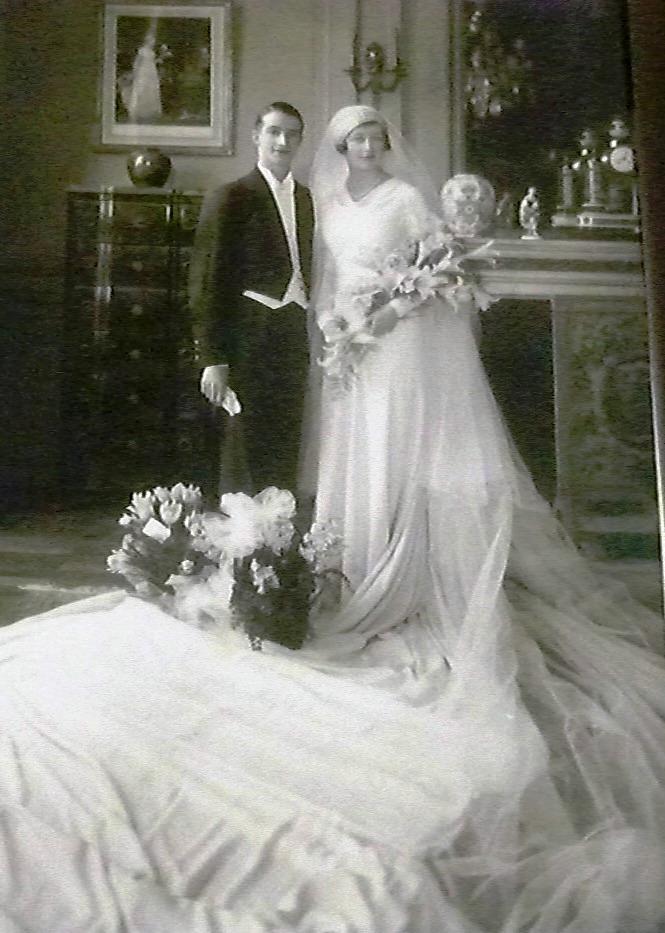 """Lepoutre-Prouvost-Marguerite-fevrier-1933-gds-parents-Cesar-Pollet-Duthoit-%20243-rueVerte-Mouvaux-Thierry-Prouvost-蒂埃里•普罗沃 - Association """"Le Paris du Nord""""  協會 """"北部巴黎"""