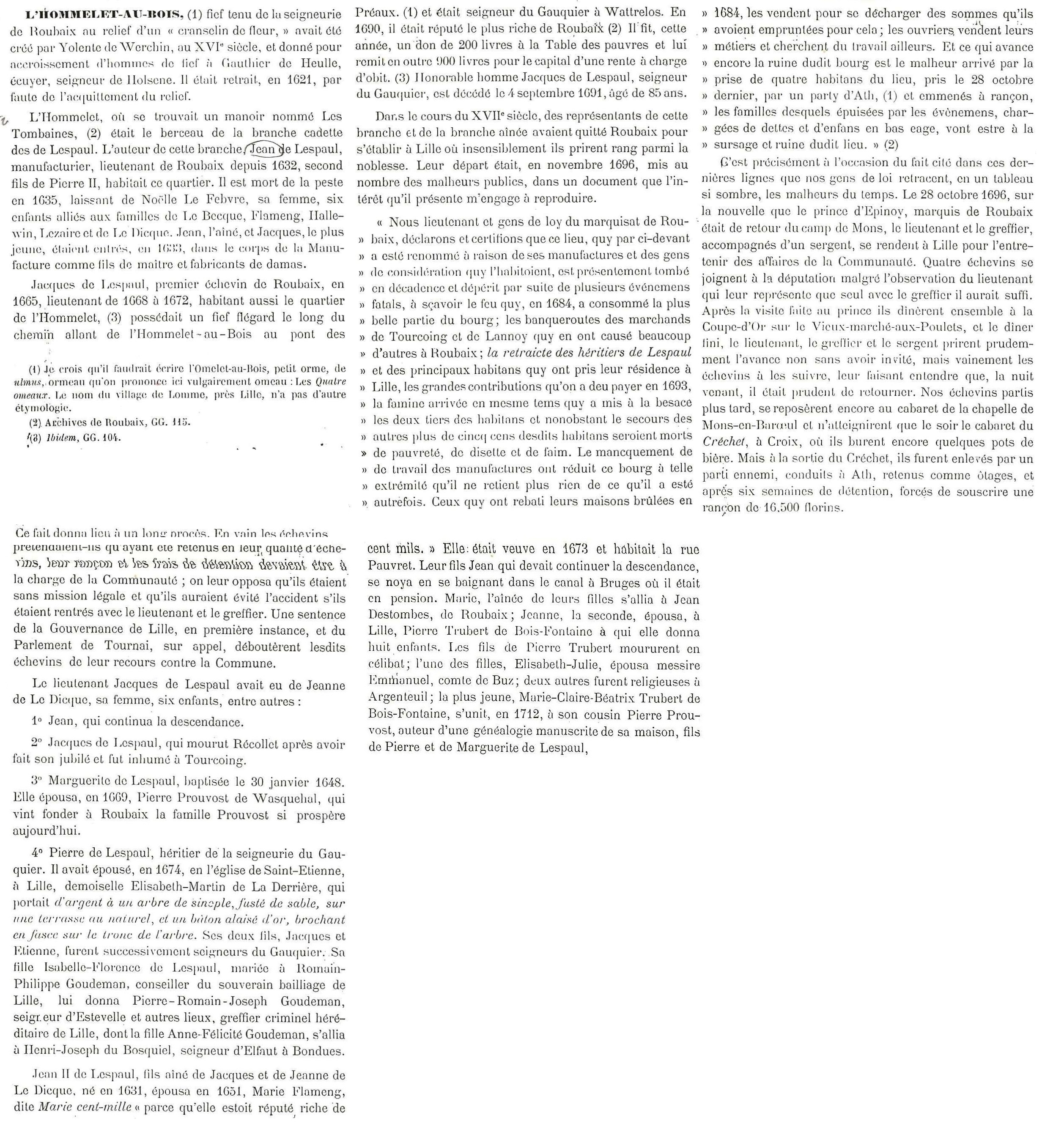 Lespaul-Lhommelet-Leuridan