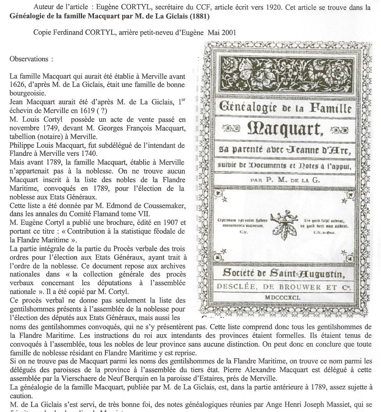 Macquart-Cortyl