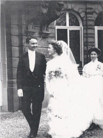 Mariage-Marguerite-Prouvost-Edmond-Masurel-1908