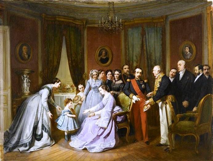 """Visite-de-Napoleon-III-Comte-Mimerel-Thierry-Prouvost-蒂埃里•普罗沃 - Association """"Le Paris du Nord""""  協會 """"北部巴黎"""
