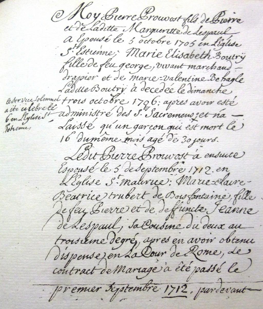 PROUVOST-1748-Genealogie