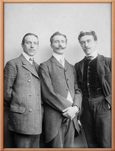trois poetes Prouvost
