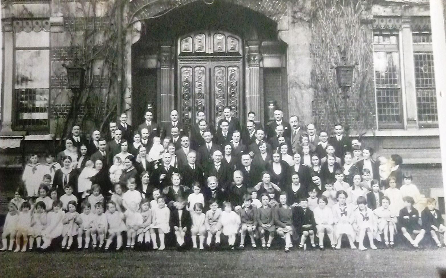 """Pollet-Cuvelier-Mouvaux-80ans%20-29-4-1931-Thierry-Prouvost-蒂埃里•普罗沃 - Association """"Le Paris du Nord""""  協會 """"北部巴黎"""
