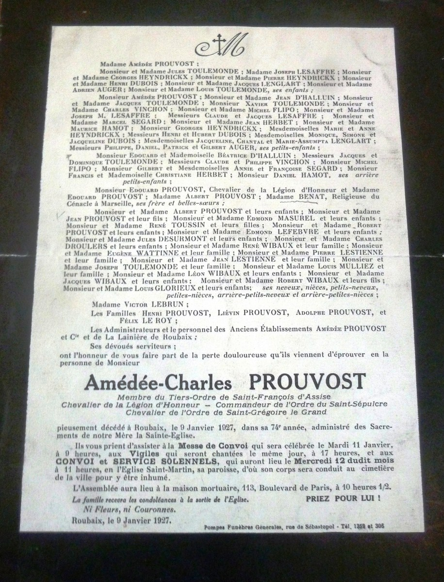 """Amedee-2-Prouvost-Association """"Le Paris du Nord""""  協會 """"北部巴黎-Thierry-Prouvost-蒂埃里•普罗沃"""