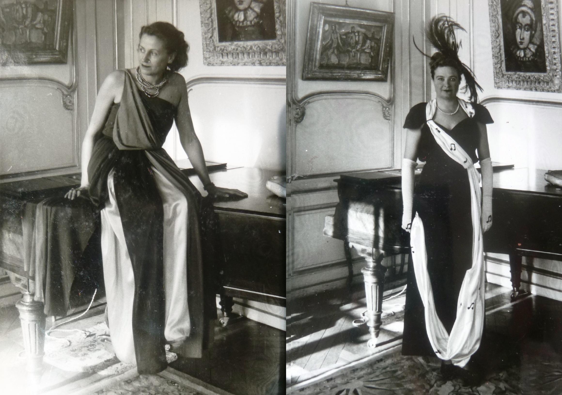 """Prouvost-Beatrice-Leclercq-Jeannette-chez-Philippe-leclercq-Association """"Le Paris du Nord""""  協會 """"北部巴黎-Thierry-Prouvost-蒂埃里•普罗沃"""
