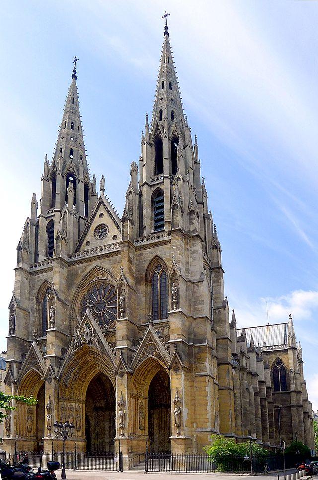 Mariage-Amedee-Prouvost-Sainte-Clotilde-Paris-2-fevrier-1875