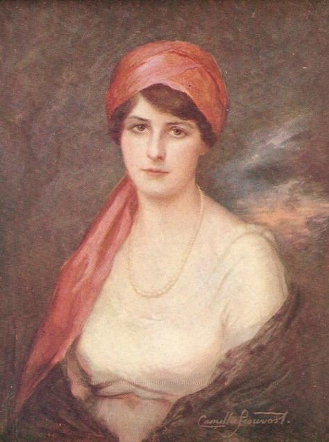 Camille Prouvost portraitiste