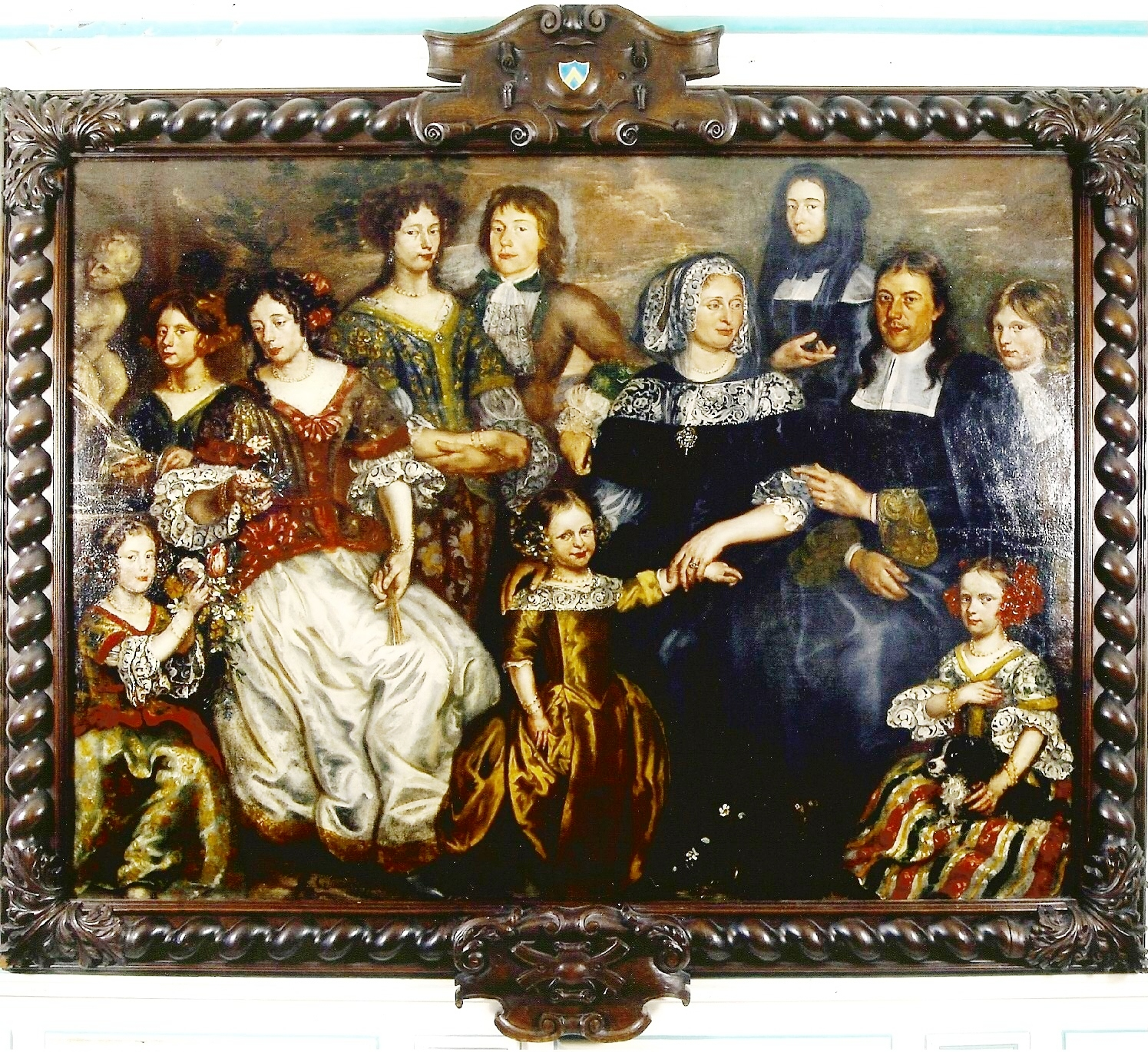 Famille-Carpentier-par-Jacobs-peintre-guilde-Anvers-date-1602
