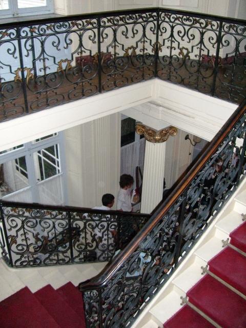 escalier-rue-Gand-Lille-Hotel Viirnot-Cuvelier-Cecile de Segur