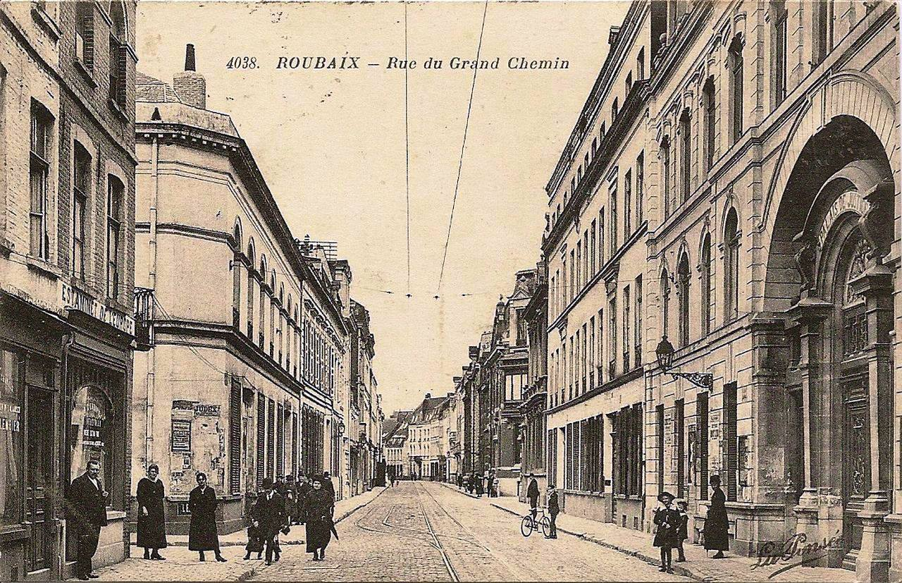 Foyer Grand Rue Roubaix : Charles prouvost i ii iii iv v