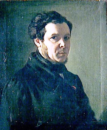 Autoportrait-peintre-Mottez