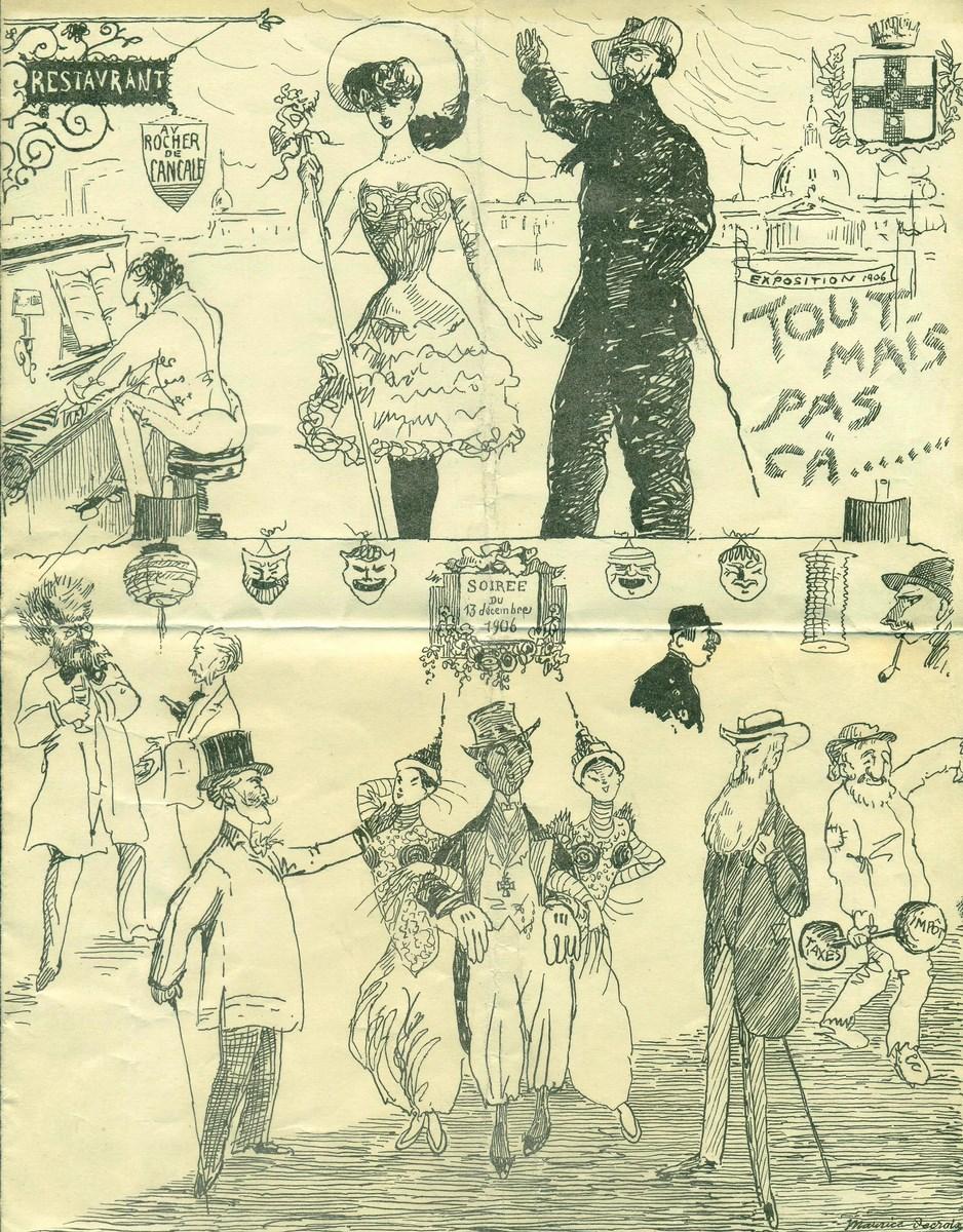 """theatre-Albert-31-decembre-1906-Association """"Le Paris du Nord""""  協會 """"北部巴黎-Thierry-Prouvost-蒂埃里•普罗沃"""